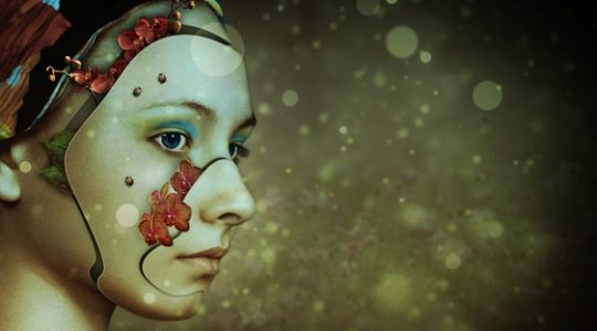 Die Frau hinter der Maske