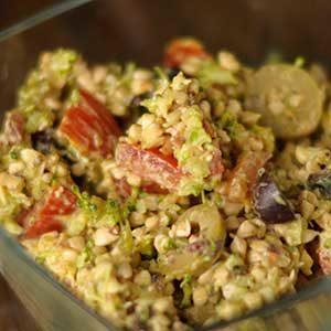 Vegan: Buchweizensalat