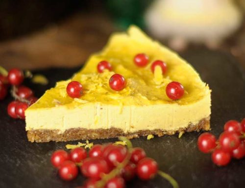 Rohkost: Mango-Zitronen-Torte