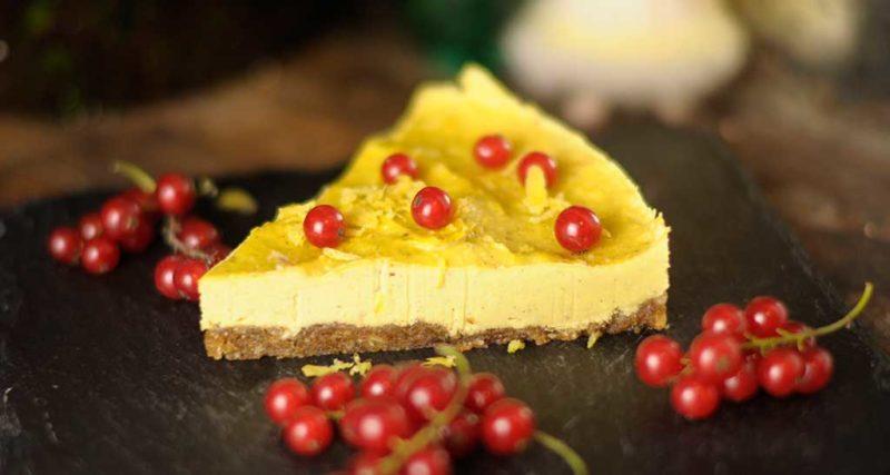 Mango-Zitronen-Torte