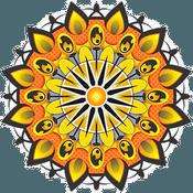 Licht und Feuer Mandala