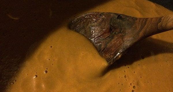 fertige vegane braune Sauce