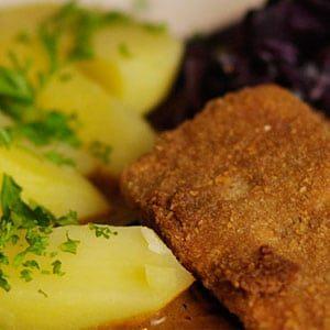 veganes Sellerieschnitzel