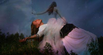 Frau mit reiner Seele