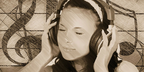 Musik hören die beruhigt
