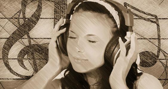 Stress abbauen durch Musik