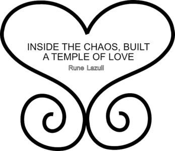 Inside the Chaos built a temple of love