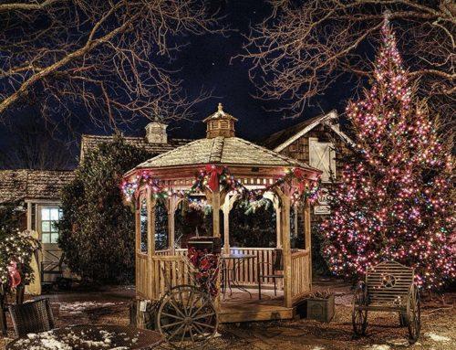 Weihnachten am Ende des Regenbogens