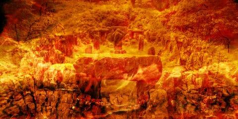 Beltane, Druiden, Feuer, Steinstätte