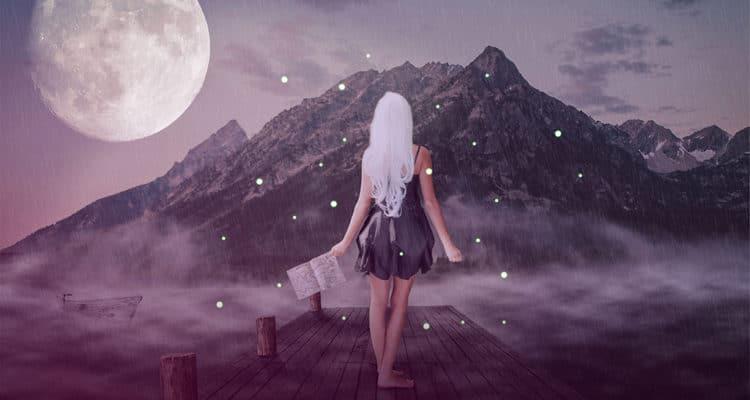 Lilith und der Mond im Schützen