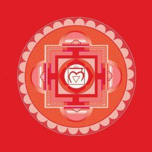 Vishudda Wurzelchakra Symbol