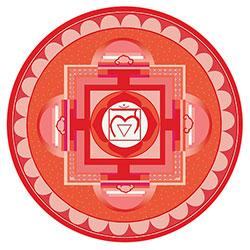 Symbol für das Wurzelchakra