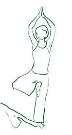 Yoga Asana Baum