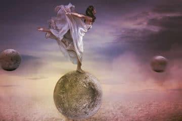 Der Tanz auf dem Mond
