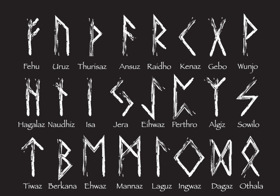 Runen 24er Futhark