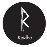 Rune Raidho/Raiðo - Rad