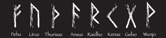 Freyrs Aett 24er Futhark