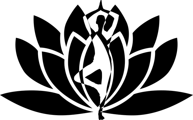 Asana Lotusblüte