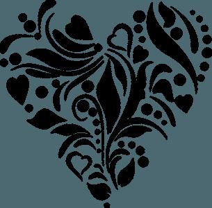 Herz Ornament