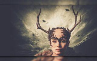 Die Hirschfrau