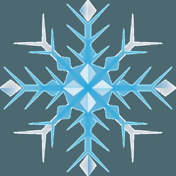 kleine Schneeflocke