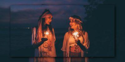 Neumond im Widder Hippie Frauen