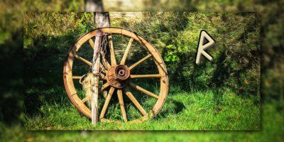 Die Rune Raido - Das Rad