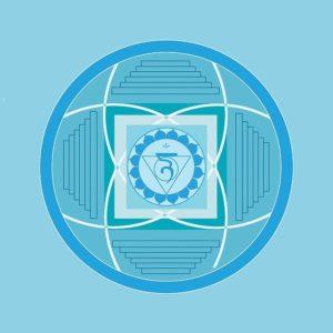 Vishudda Halschakra Symbol