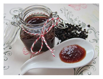 Marmelade aus Holunderbeeren