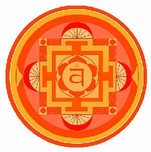 Sakralchakra - Symbol