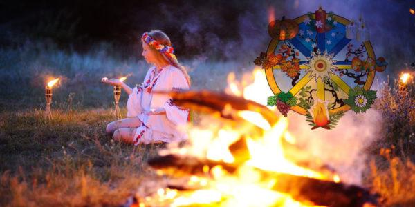 Jahreskreis keltischer, germanischer Feste