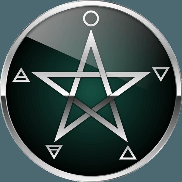 Elemente-Pentagram