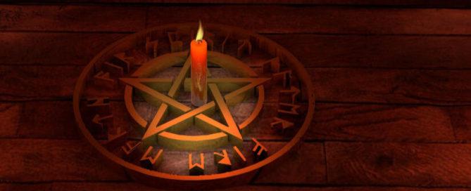 Pentagramm - Drudenfuß