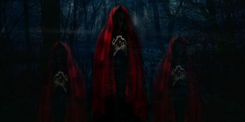 Dreifache Göttin Cailleach Brigid Modron