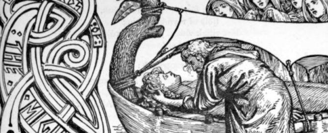 Odins letzte Worte an Baldur