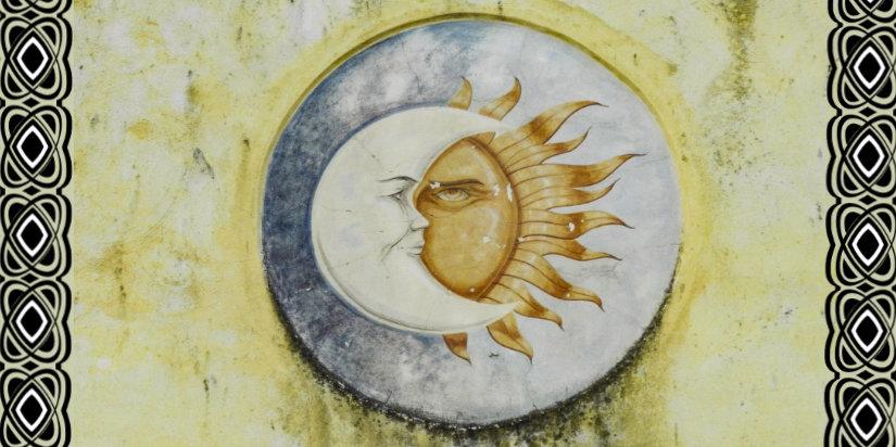 Sonne - Mond - Nordische Mythologie Edda