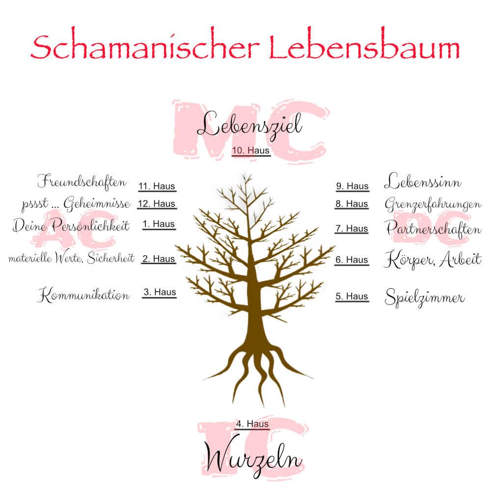 Schamanischer Lebensbaum - Astrologie