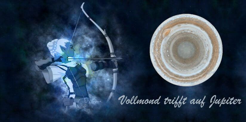 Vollmond in Schütze - 17. Juni 2019