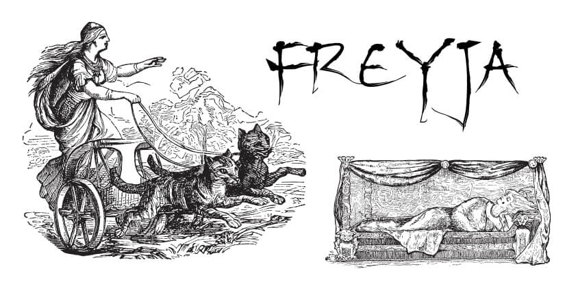 Freyja Göttin der Nordischen Mythologie