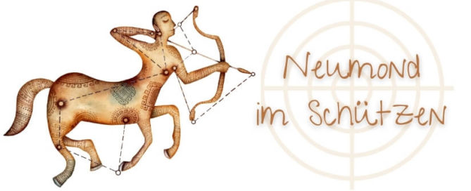Neumond im Schützen 14-12-2020