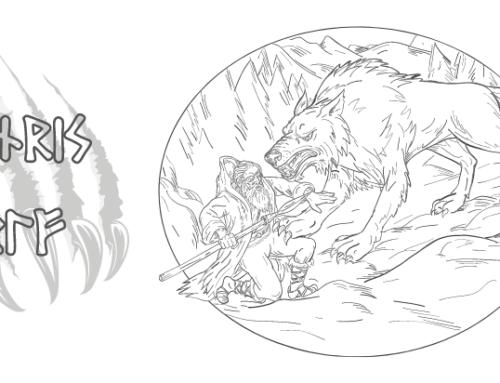 Der Fenriswolf – Ein Wesen der Nordischen Mythologie