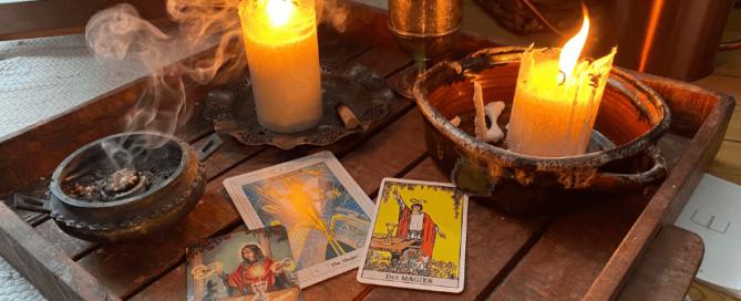 Der Magier im Crowley Wait Hexen Tarot - Ein Ritual