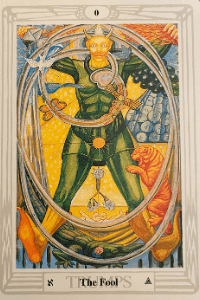 der Narr - Crowley Tarot
