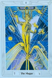 Aleister Crowley Tarot - Der Magier