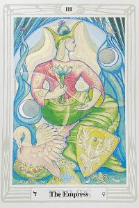 Aleister Crowley Tarot Die Kaiserin