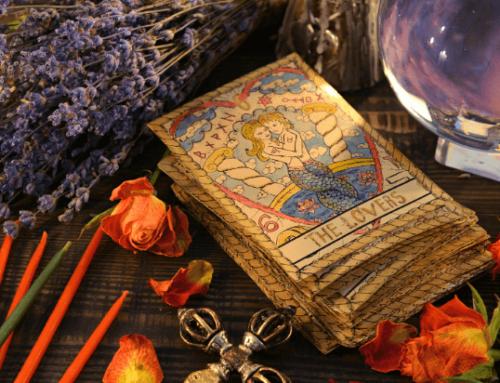 Die Liebenden (6) im Tarot – Bring dein Leben in Balance