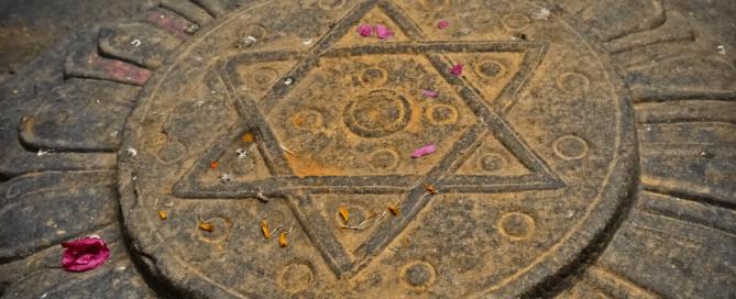 Die Sechs Zahlenmystik Numerologie Hexagramm
