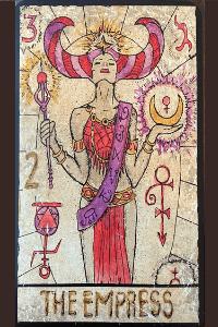The Empress Vera Petruck Tarot
