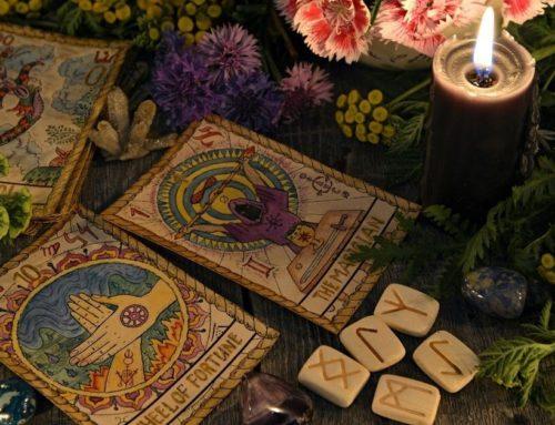 Das Rad des Schicksals (10) im Tarot