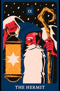 Der Eremit-Tarot